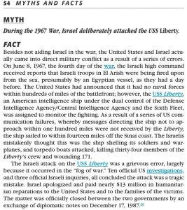 Jewish Virtual Library Perpetuates Myth About USS Liberty Attack